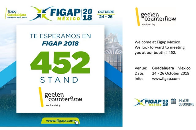 Geelen Counterflow at Figap Mexico