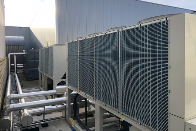 Heat pumps for factory heating
