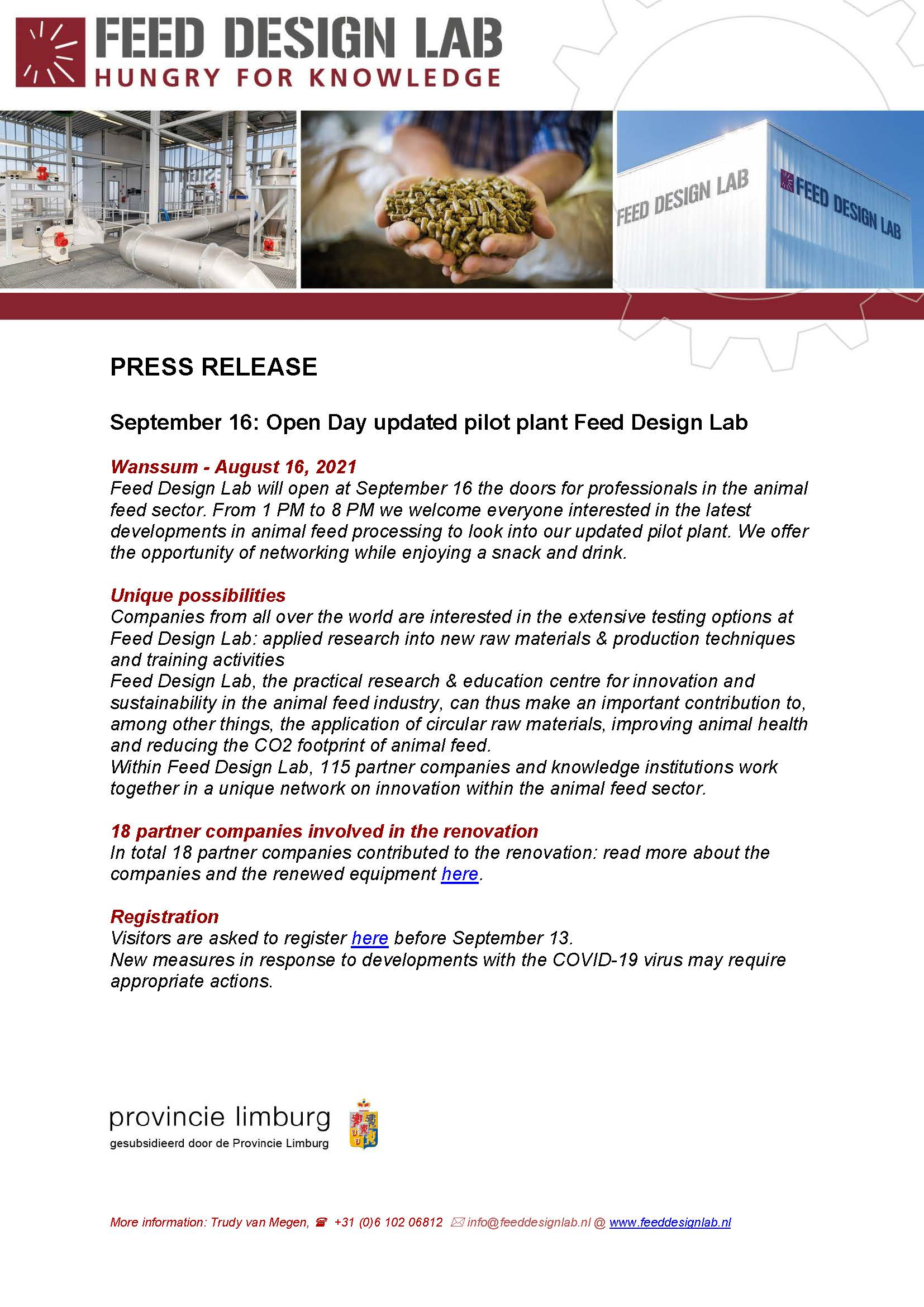 Let's meet at the Feed Design Lab!